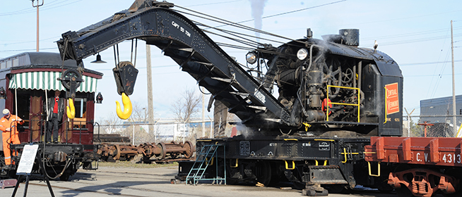 Railroad Crane